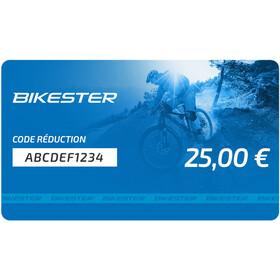 Bikester Chèques Cadeaux, 25 €